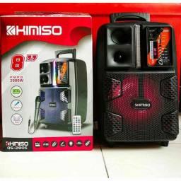 Som Kimiso 2805 caixa amplificadora 2000W r.m.p.o: