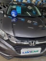 Honda HRV 1.8 EXL Aut. Cinza 2017 todas revisoes na concessionaria
