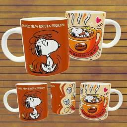 Canecas personalizadas do Snoopy