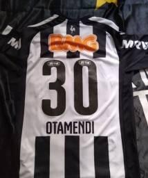 Camisa Otamendi Atletico MG/Galo 2014
