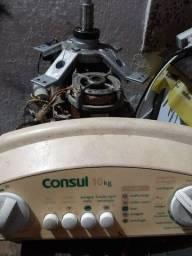 Motor,eixo,placa de comando da lavadora consul 10kl funcionando tudo