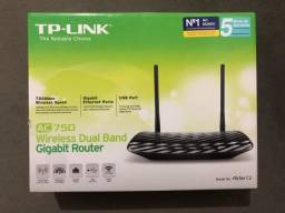 Roteador TP-LINK ( Semi-novo ) AC750 Wireless Dual Band Gigabit Router