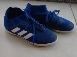 Chuteira Adidas Nemeziz Azul tam 31 futsal - Centro SP