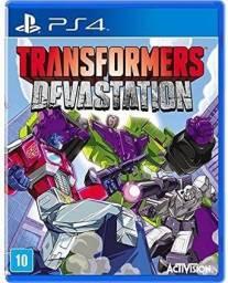 Transformers devastation ps4