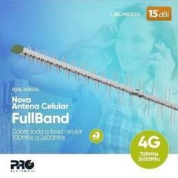 Proeletronic Antena Celular Fullband 3g/ 4g 700-2600mhz 66 Elementos 15dbi - Pqag-5015lte