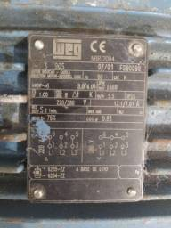 Motor Weg trifásico 3cv barras de cobre