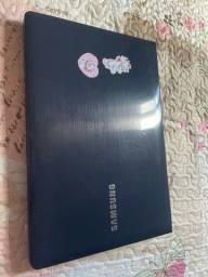 Vendo notebook Samsung, modelo 2018 perfeita conservação