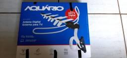 Antena Digital Aquário Semi Nova com 20 dias de uso por 140,00, CT *