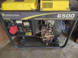 Gerador Matsuyama Diesel 6500 220/380 V