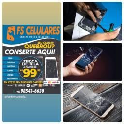 Promoção Telas e Display Samsung J120/j200/j320/j500/j700 Novo