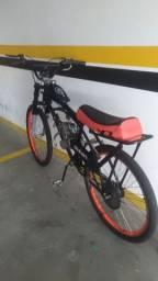 Bicicleta motorizada 80cc 2t