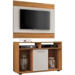 Painel com Rack TV até 43 Polegadas Combo