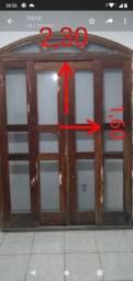 Vendo porta de madeira de excelente qualidade