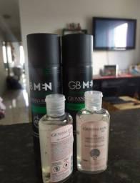 Desodorante e Álcool em Gel Geovana Baby