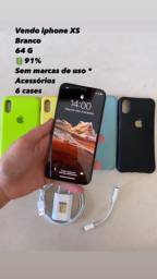 iPhone XS Branco - 64gb