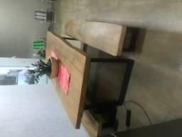 Mesa de madeira usada 3 meses!