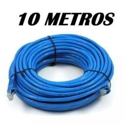 Título do anúncio: Cabo De Rede 5E Azul 10 Metros