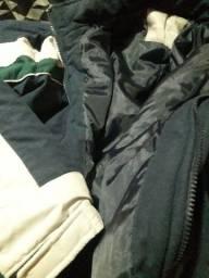 Jaqueta tamanho m grande sinza