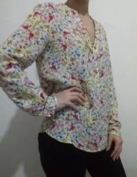 Blusa estampada M