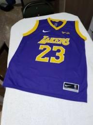 Camisa de basquete Los Angeles Lakers G e GG