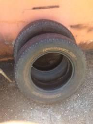 2 pneus 265/65r17 Michelin meia vida