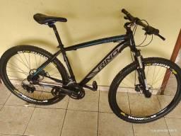 Bike Rino everest aro 29, quadro 19 , 24 marchas, freio hidráulico.