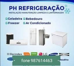 refrigeração orçamento  grátis ! *