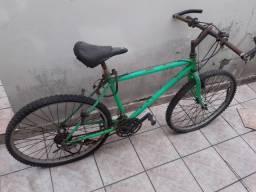 Bicicleta antiga montainbike aro 26 caloi no estado para restauração só venda
