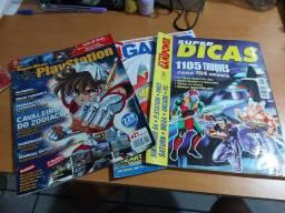 Revistas antigas de video game