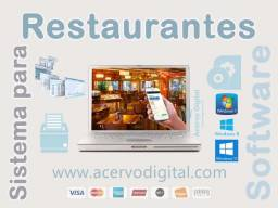 Software para Restaurantes + Módulo Comanda Mobile