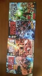 Novos Titãs & Superboy n° 1 a 7 Ed. Panini - Coleção Completa