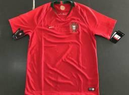 Camisa Seleção de Portugal 2018 327d6bae76288