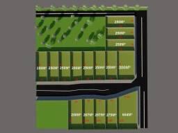 Terrenos medindo: 10 x 25 - 15 x 25 e 18 x 34 - últimas unidades