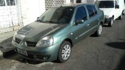 Clio sedan 1.6 privilegie completo carrão bom e barato - 2007