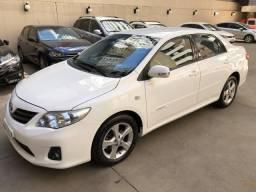 Toyota Corolla XEI 2.0 Flex automático completo + couro 12/13 impecável! - 2013