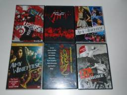 Lote Com 6 Shows Em Dvd