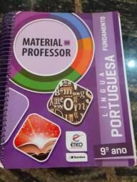 Livro Saraiva Material Do Professor - Língua Portuguesa 9° Ano Fundamental II