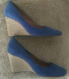 Sapato Sporty Blue da Arezzo, número 38