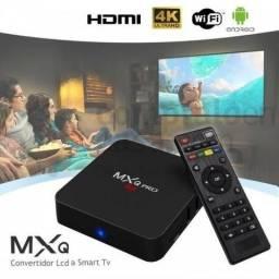 TV Box MXQ Pro -4Gb Ram + 32 Gb Armazenamento + 1 Mês Assinatura Premiu