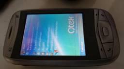 QTEK 9100 com Windows Mobile (velho mas funcionando)