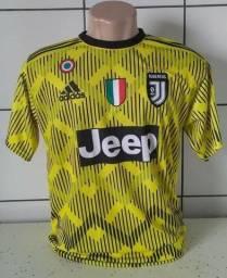 Promoção imperdível vendo camisas de futebol no valor de 25 reais cada