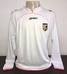 Camisa Palermo Italia Legea Mangas Longas Italia Importada Raridade  Colecionador 32255a99e7825
