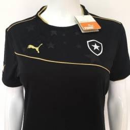 6f8355e6b8 117 - Camiseta Camisa Puma do Botafogo Feminina Baby Look Tamanho G Fogão  Regatas Futebol