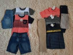 Atacado de roupas infantil lote com 58 peças para meninos 5442ee28f2206