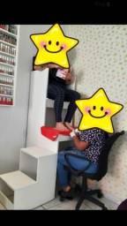 Cadeira de uso de clientes ( Manicure )