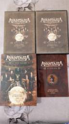 Dvds+ Cds originais Avantasia the flying opera