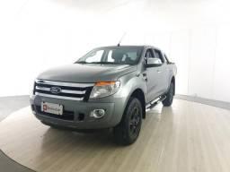 Ford Ranger 2.5 XLT 4X2 CD 16V FLEX 4P MANUAL - Cinza - 2014 - 2014