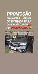 Honda/FIT 2017 LX 1.5 AUTOMÁTICO(R$1MIL DE ENTRADA)SHOWROOM AUTOMÓVEIS