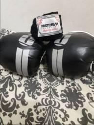 Luva é bandagem Muay thay e boxe