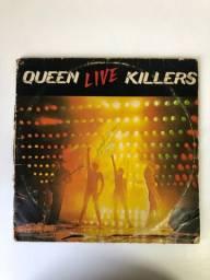 LP duplo Queen - Live Killers (1979)